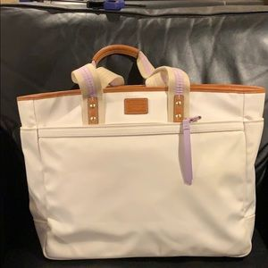 Authentic Coach baby bag with dust bag